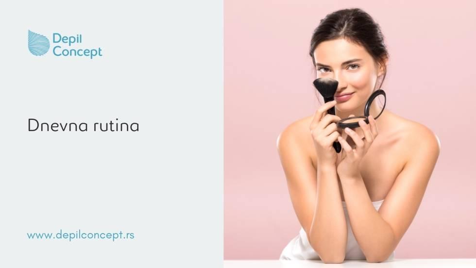 šminka u letnjim danima šminkanje leti depilconcept makeup tijana damjanovic