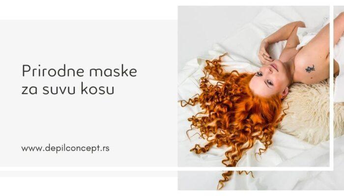 Prirodne Maske Za Suvu Kosu