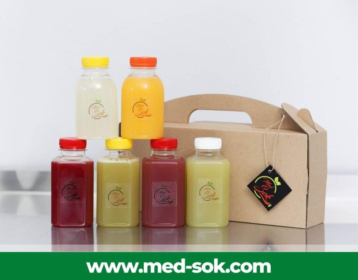 DepilConcept detox organizma prirodnim hladno cedjenim sokovima Med Sok – iskustva i preporuke